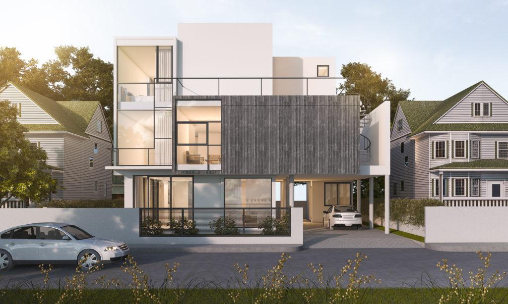 Rivestimento Esterno Casa : Decorare la casa con i rivestimenti esterni ville casali