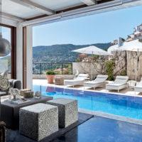 Una villa sul mare della Turchia dallo stile nordico