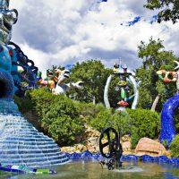 Il Giardino dei Tarocchi, un parco esoterico sulla collina di Capalbio