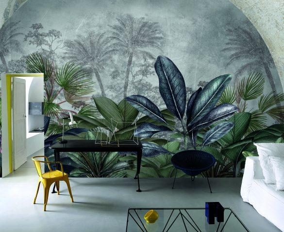 Welcome to the Jungle fa parte della collezione 2018 Collezione Palingenesi. Realizzata con materiali innovativi, design originale e con un'ampia possibilità di personalizzazione, la linea si compone di numerose ambientazioni e soggetti.
