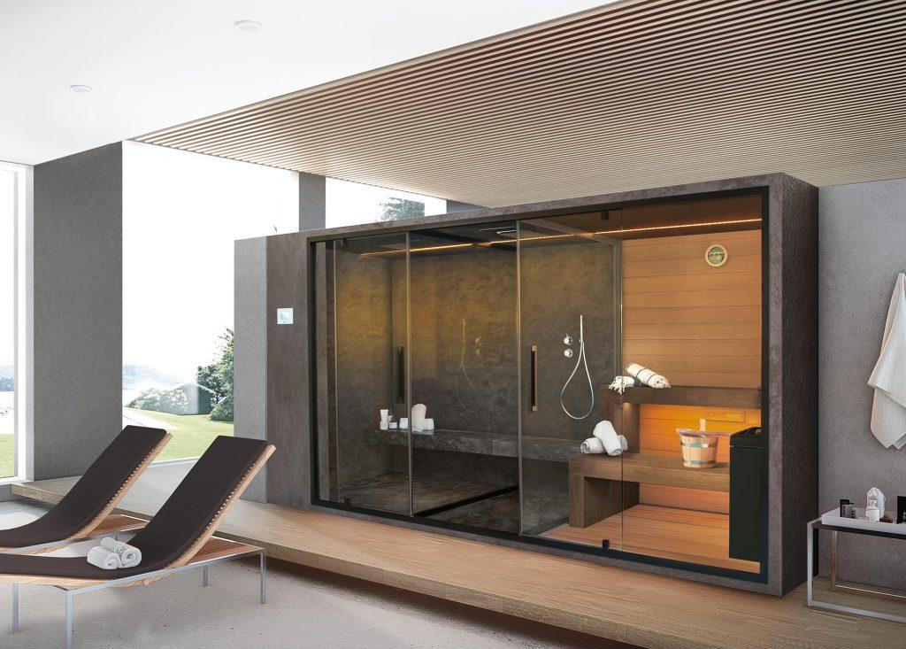 Bagno Turco Per Casa Prezzi.La Spa In Casa Sauna Idromassaggio E Bagno Turco Per Il Benessere Domestico Ville Casali