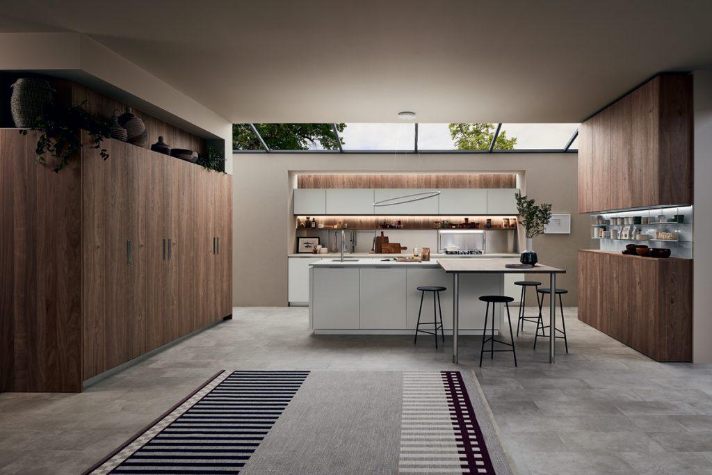 Per la cucina nuovi volumi e materiali inediti ville&casali