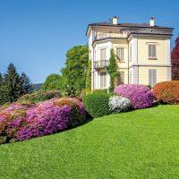 Il giardino antico degli anni 20 con i nuovi colori