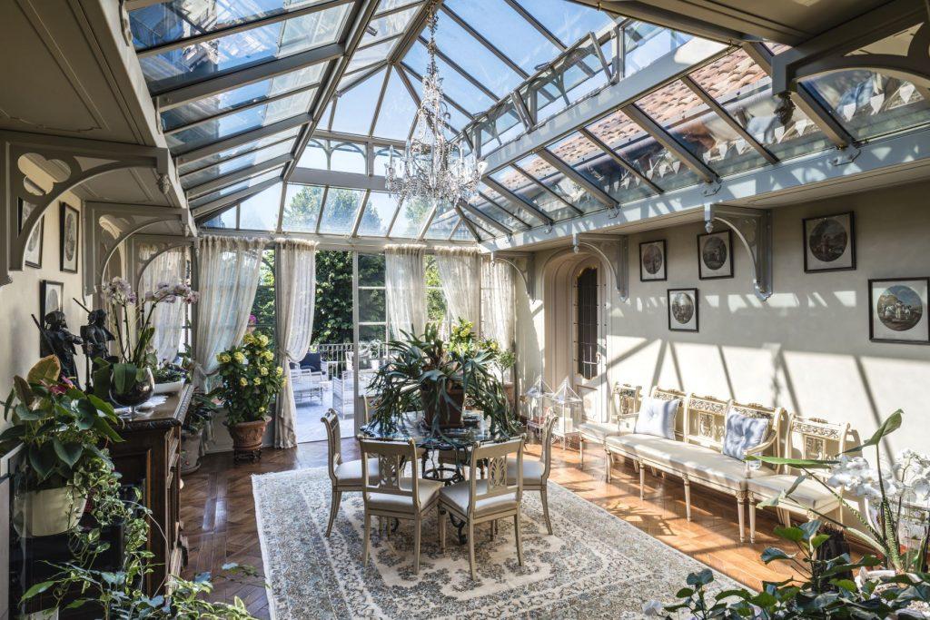 Veranda realizzata da L'Officina dei Giardini (foto Maria Bruni)