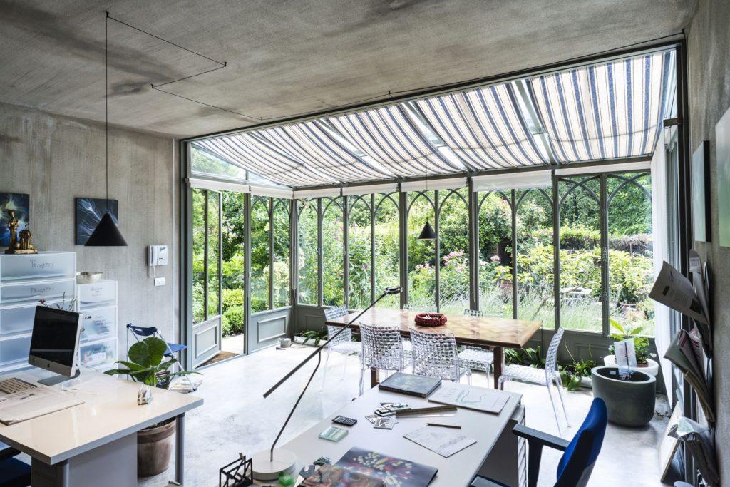 Veranda realizzata da L'Officina dei Giardini