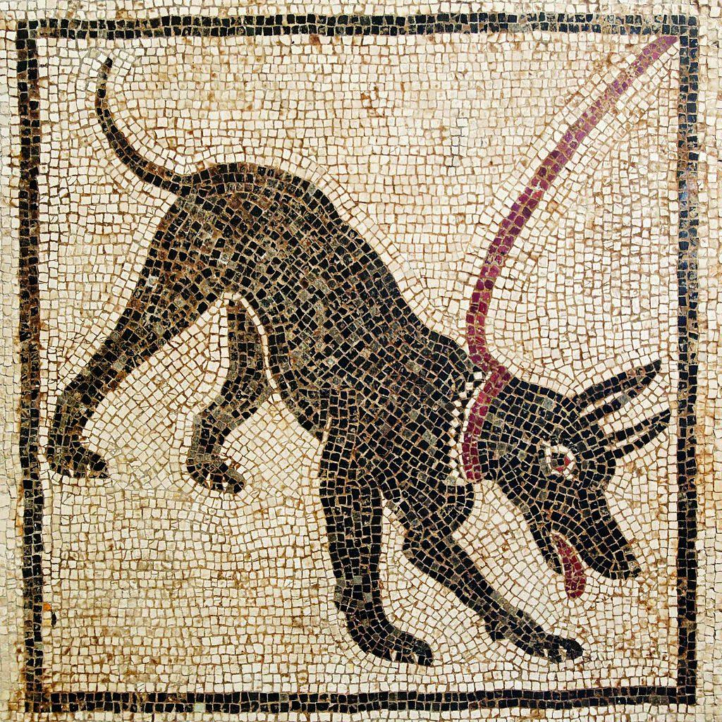 Arte Romana, cave Canem. Napoli, Museo Nazionale