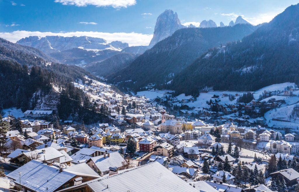 Vista di Ortisei, Val Gardena