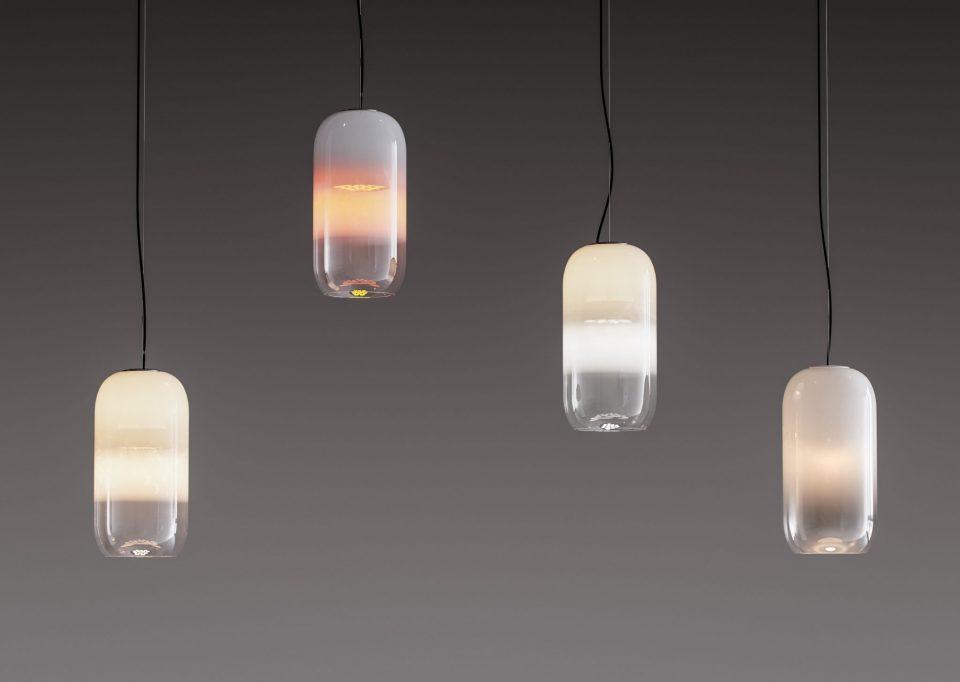 Le forme della luce lampade di design per interni ville casali