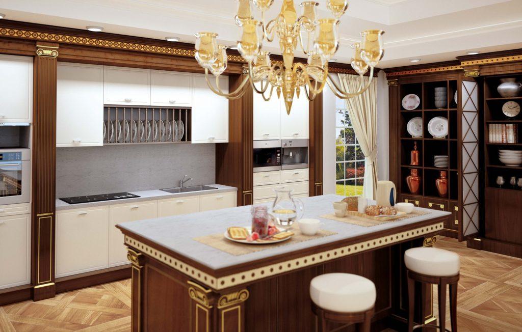 Cucina Con Boiserie : Il classico è in cucina con turati boiseries ville casali