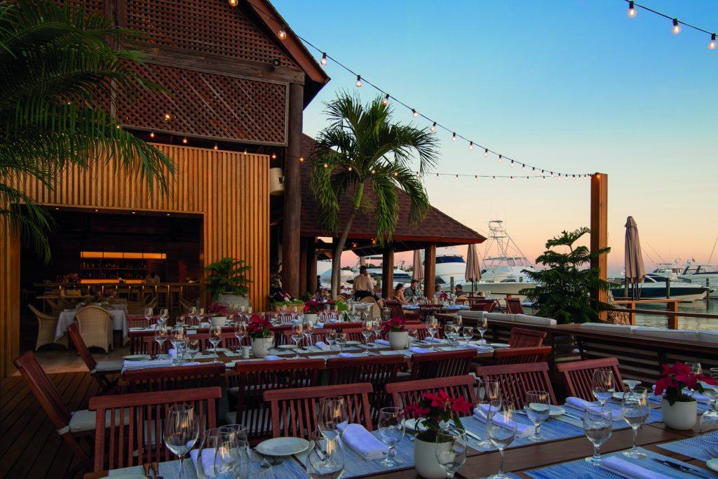 """ristorante """"La Casita"""" ai Caraibi, elaborato dallo Studio Fini Architettura"""