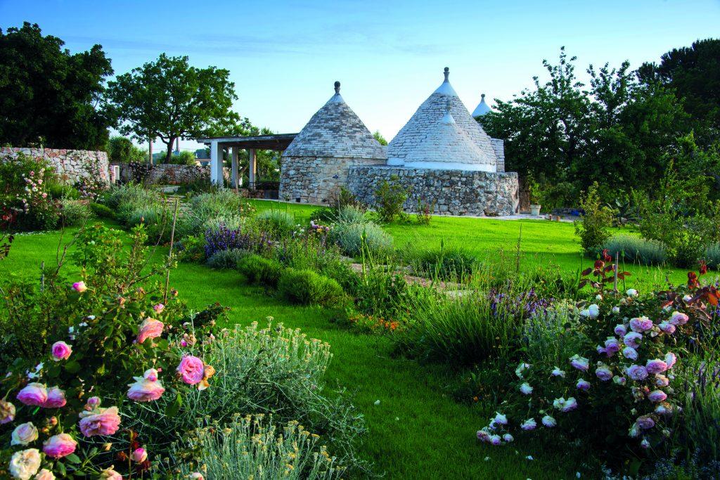 ostuni, giardino