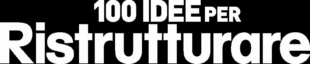 Logo 100 idee per ristrutturare