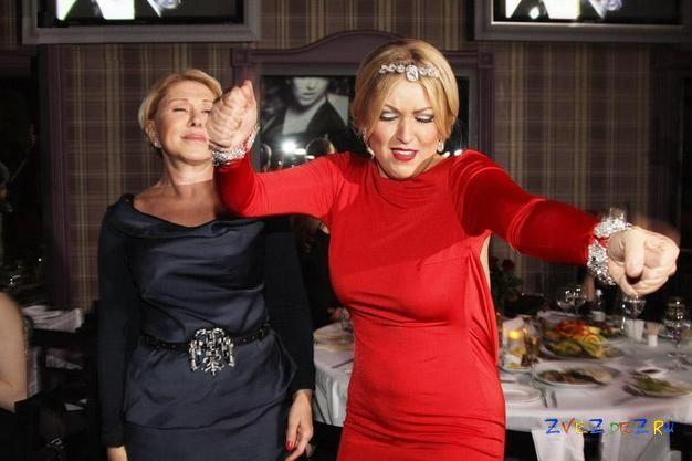 Ирина Дубцова на дне рождения