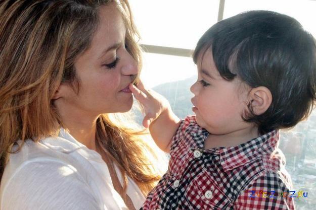 Шакира мечтает родить девятерых детей