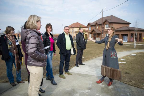 Ксения Собчак  агитирует клиентов на покупку жилья в «American Dream»