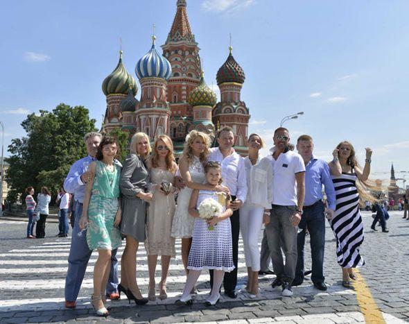 Свадьба Марата Башарова и Екатерины Архаровой. Фото сайта u-f.ru