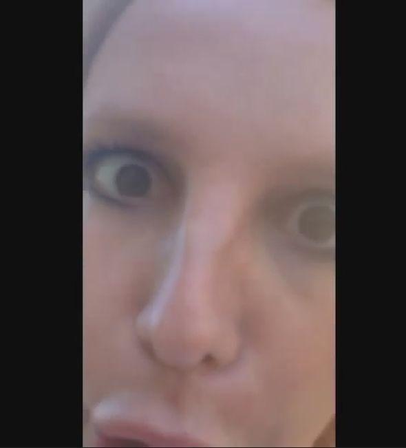 Бритни Спирс со сломанным носом
