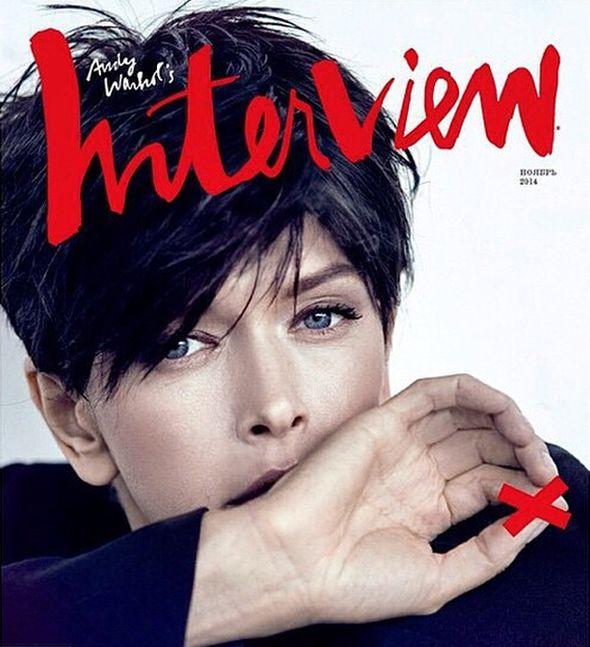 Вера Брежнева на обложке ноябрьского номера InterView