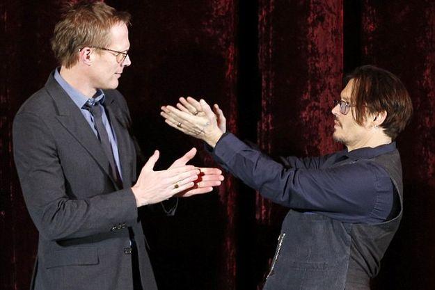 Джонни Депп чудил на берлинской премьере «Мордекая»
