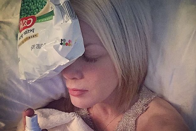 Тори Спеллинг нашла средство от мигрени