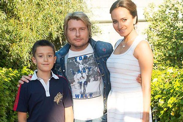 Николай Басков вышел в свет с невестой и ее сыном
