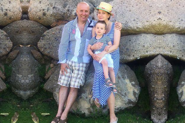 Ольга Кабо показала фото своей семьи