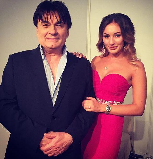 Александр Серов и его дочь Мишель