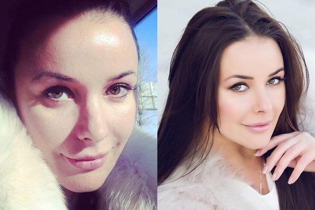 Оксана Федорова злоупотребляет фотошопом