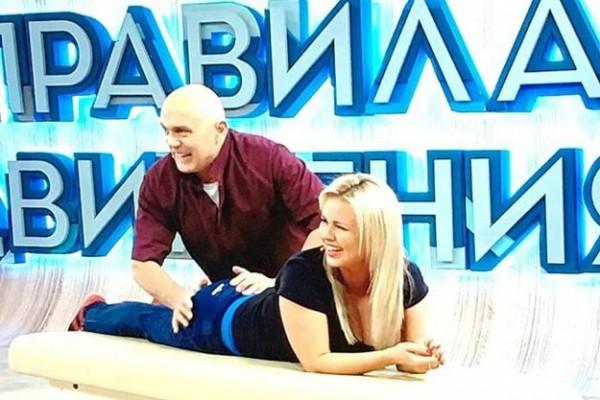 Анна Семенович и Сергей Бубновский