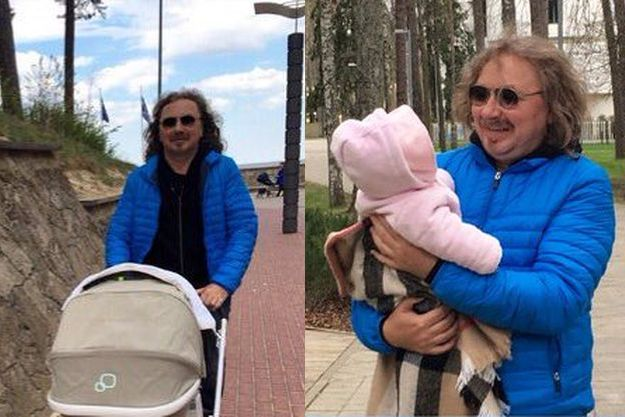 Игорь Николаев показал нежное фото с дочкой