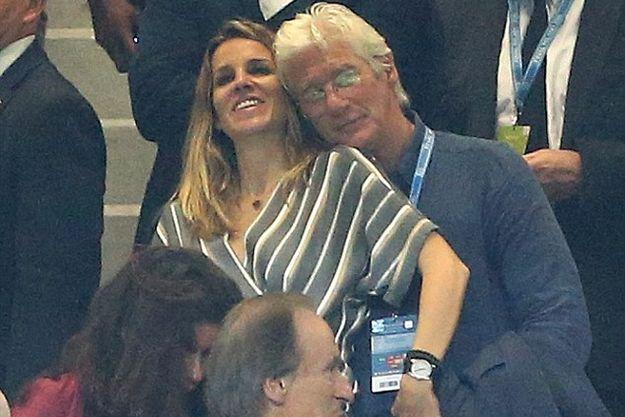 Ричард Гир с молодой любовницей сходил на финал Лиги Чемпионов УЕФА
