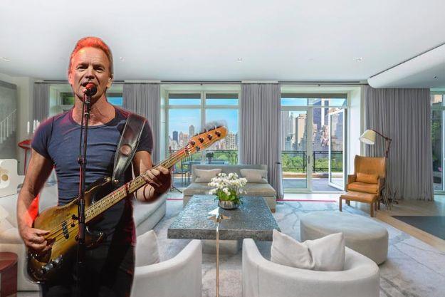 Стинг решил избавиться от нью-йоркской квартиры