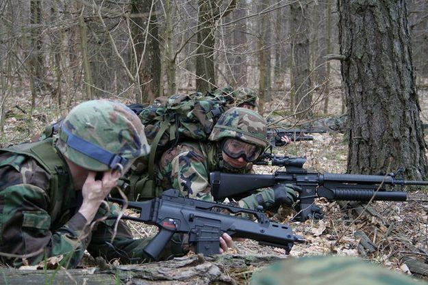Военные игры — досуг с дозой адреналина