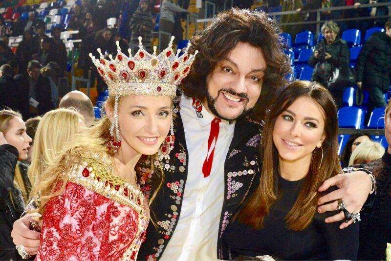Филипп Киркоров рассказал поклонникам о «зеленом цвете настроения» на шоу Татьяны Навки