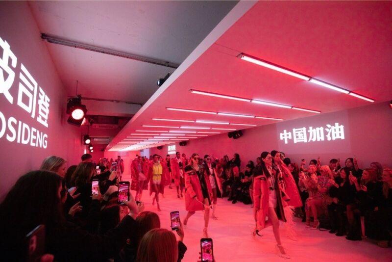 Бренд BOSIDENG призвал участников Лондонской недели моды поддержать Китай