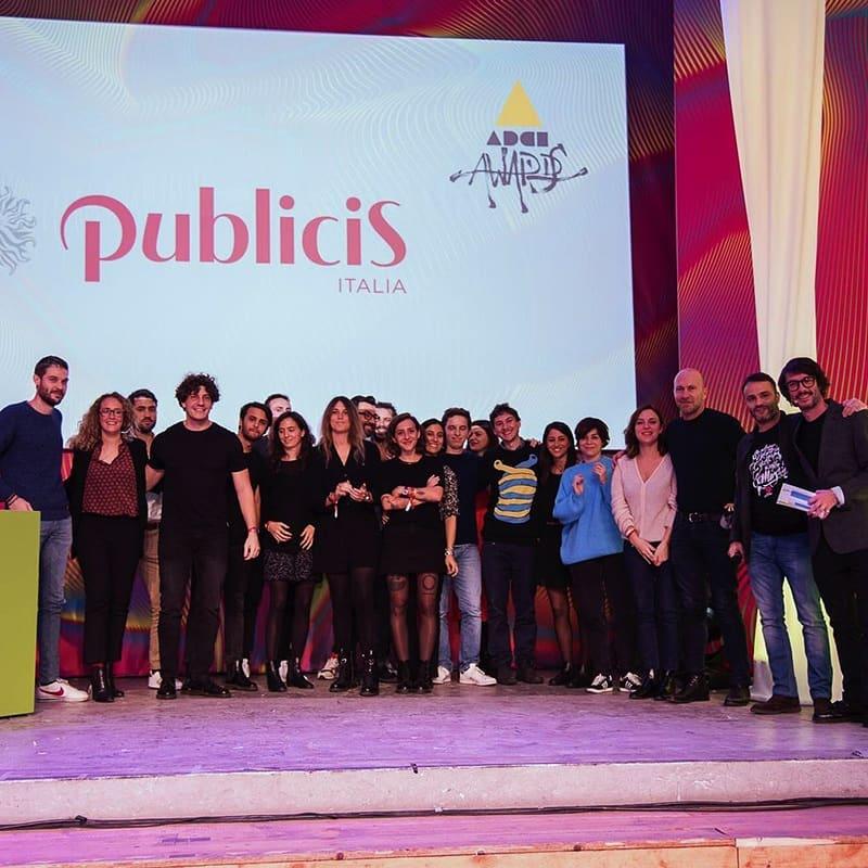 В число лучших рекламных агентств мира вошла компания Publicis Italy