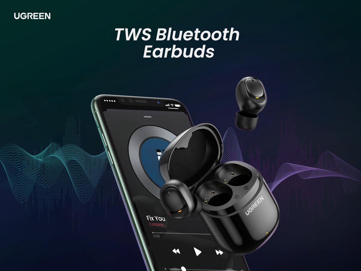 Универсальные наушники UGREEN TWS True Wireless Earbuds обречены на успех