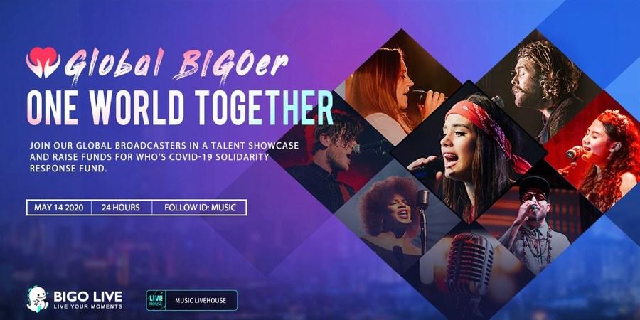 Акцию по сбору средств «Global BIG Oer One World Together» инициировала Bigo Live