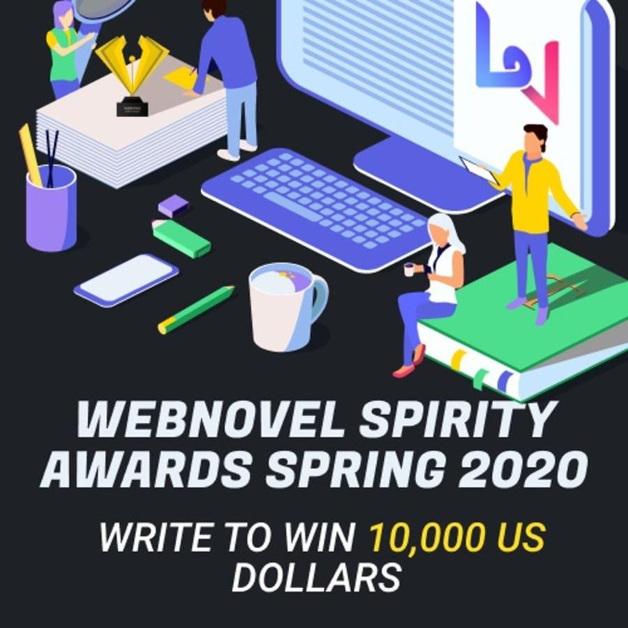 Талантливых авторов на конкурсе Webnovel Spirity Awards Spring 2020 выявит Webnovel