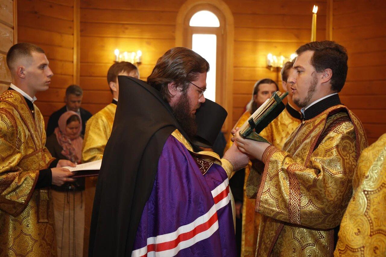 Епископ Бронницкий освятил часовню храма святого равноапостольного великого князя Владимира