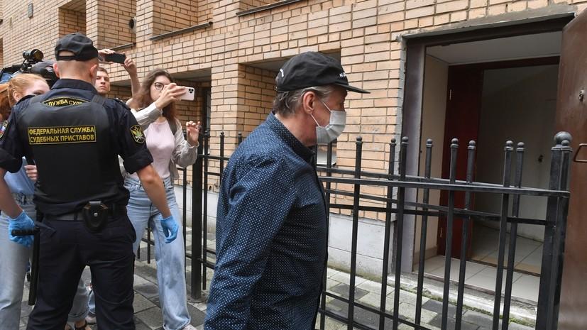 В Пресненском суде Москвы начались предварительные слушания по делу Михаила Ефремова