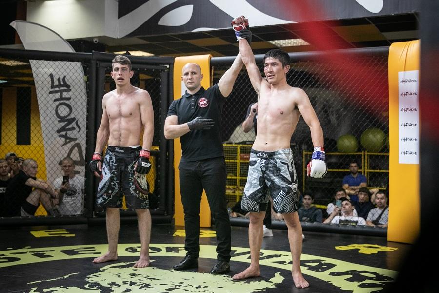 Завершился турнир по MMA, организованный Лигой #НаРайоне