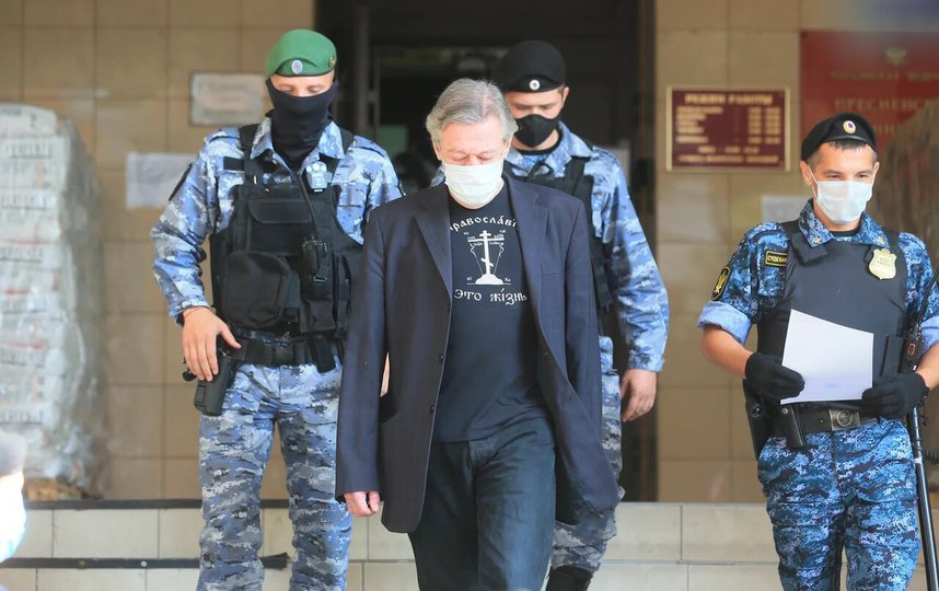 Дело Михаила Ефремова: в интернете открылась продажа билетов на судебный процесс