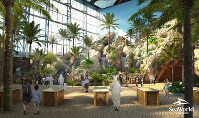 Более 40% работ по строительству парка SeaWorld Abu Dhabi выполнила Miral