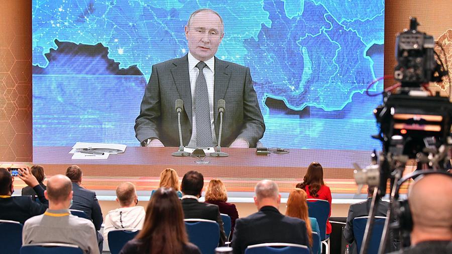 Прямая линия с президентом: Путин прокомментировал скандальное видео с Артемом Дзюбой