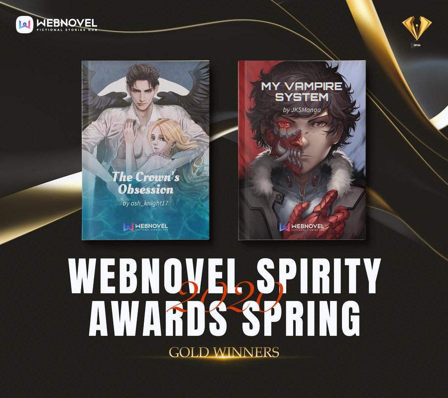 Организаторы Webnovel Spirity Awards Spring 2020 объявили победителей конкурса