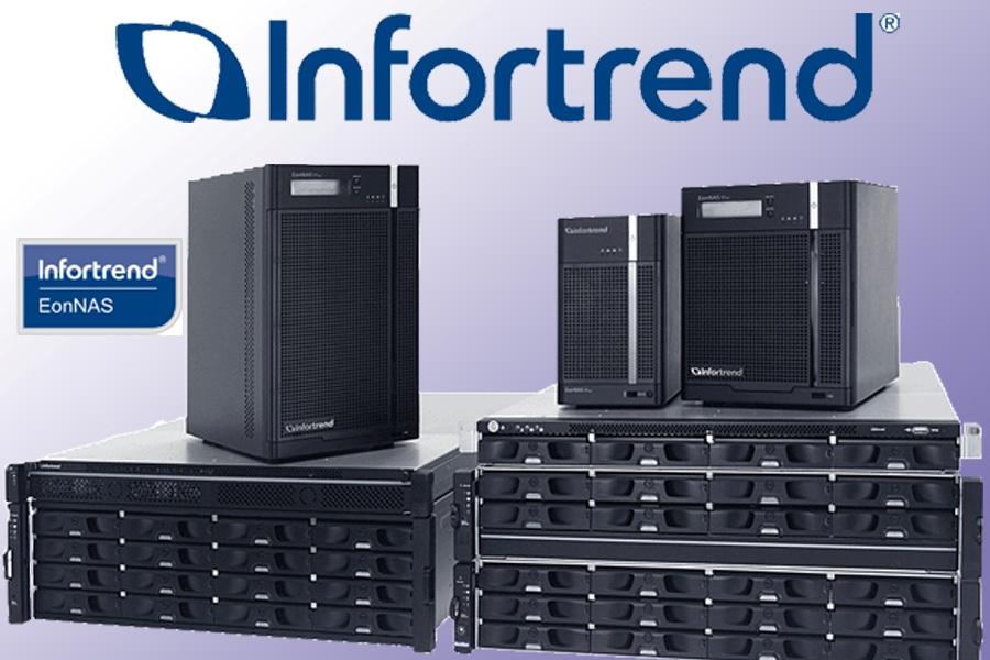 Горизонтально масштабируемые NAS-системы EonStor CS с SSD-кэшем – новинка от Infortrend