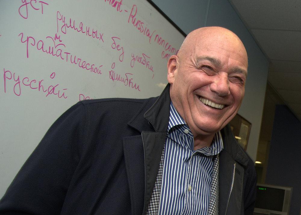 Грузинская телеведущая заявила, что Познеру 116 лет