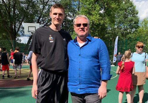 Андрей Кириленко провел мастер-класс для детей в Балашихе