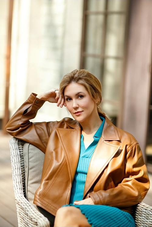 Юлия Махова, создатель бренда Tender Cashmere, выпускает средства по уходу за кашемиром